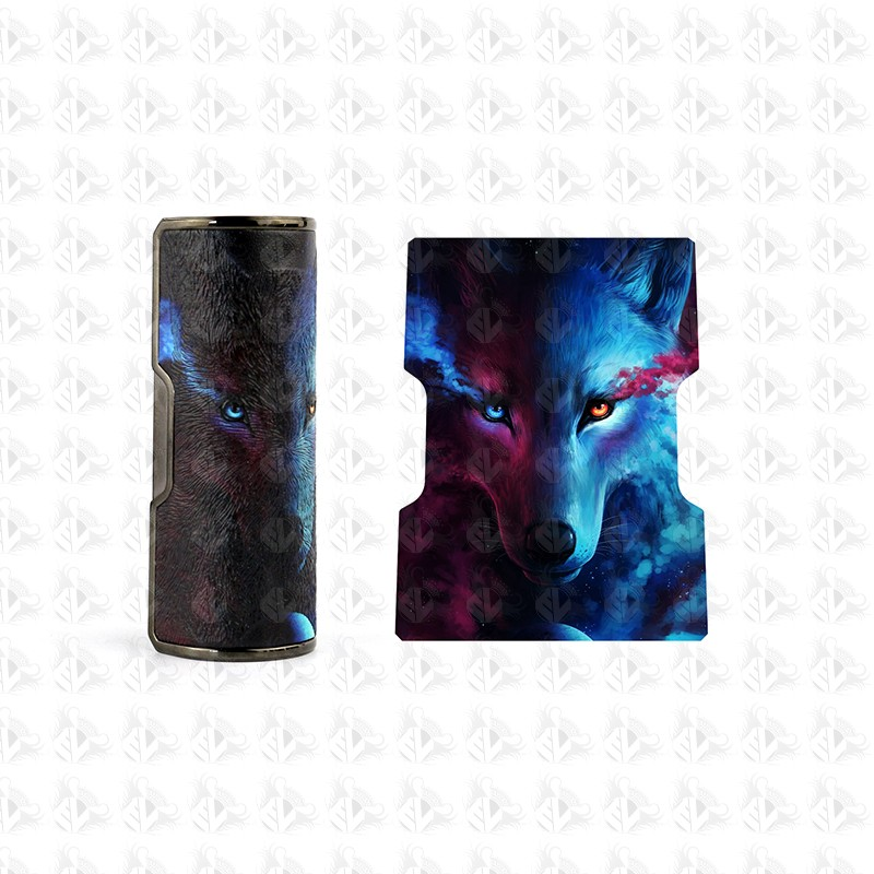Rogue 100 Battery Cover By DOVPO Gunmetal Wolf