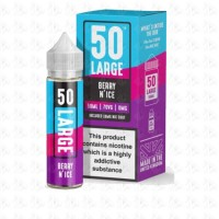 Berry N Ice By 50 Large 50ml Shortfill