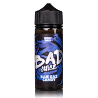 Blue Raz Candy By Bad Juice 100ml Shortfill