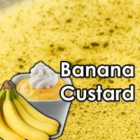 Banana Custard 10ml 50/50 By Vjuice
