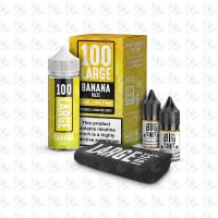 Banana Haze By 100 Large 100ml 0mg
