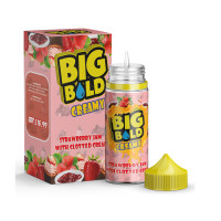 Strawberry Jam With Clotted Cream By Big Bold Creamy 100ml Shortfill