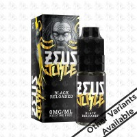 Black Reloaded By Zeus Juice 10ml High VG