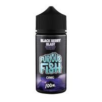 Blackberry Blast vape eliquid By Furious Fish 100ml Shortfill