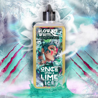 Once Upon A Lime ICE By Blow White 80ml Shortfill