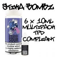 Blueberry Sour By Stika Bombz 6x10ml (Tpd Compliant)