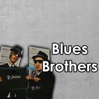 Blues Bros 10ml 50/50 By Vjuice