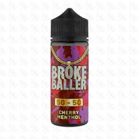 Cherry Menthol By Broke Baller 80ml Shortfill