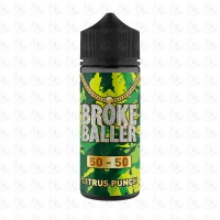 Citrus Punch By Broke Baller 80ml Shortfill