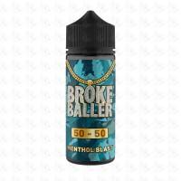 Menthol Blast By Broke Baller 80ml Shortfill