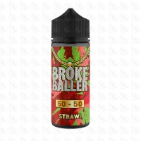 Strawi By Broke Baller 80ml Shortfill