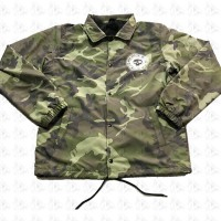 Camo Spring Coach Jacket By ODB