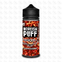 Cappuccino By Moreish Puff Tobacco 100ml Shortfill