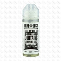 Cherry Lime Slush By Law Less 100ml Shortfill