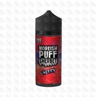Cherry By Moreish Puff Sherbet 100ml Shortfill