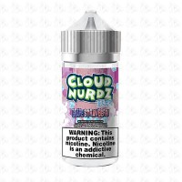 Grape Strawberry Iced By Cloud Nurdz 100ml Shortfill