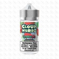 Watermelon Apple Iced By Cloud Nurdz 100ml Shortfill