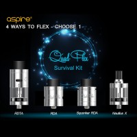 Aspire Quad-Flex Survival Kit