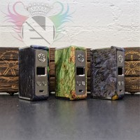 AsModus Minikin V1.5 Kodama Edition (Stabilized Wood)(Stainless)