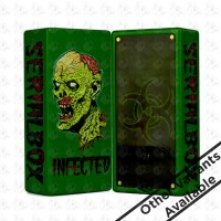 Infected Box Mod By Deathwish Modz Zombie Green Custom