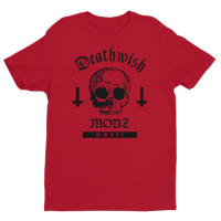 Deathwish Tshirt Red Extra Small