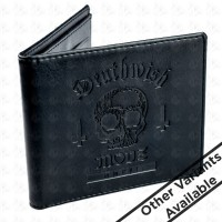 Deathwish Embossed Wallets