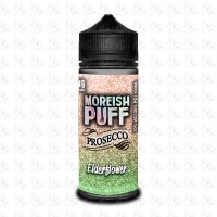Elderflower By Moreish Puff Prosecco 100ml Shortfill