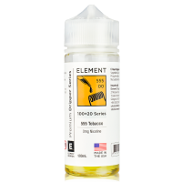 555 Tobacco By Element Eliquid 100ml Shortfill