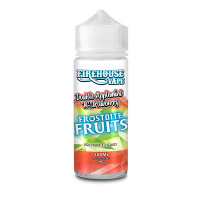 Double Apple Mint And Strawberry Ice By Firehouse Vape Frostbite Fruits 100ml Shortfill