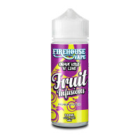 Grape Kiwi And Lime By Firehouse Vape Fruit Infusions 100ml Shortfill