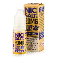 Blueberry Juice Nic Salt By Flawless 10ml 20mg