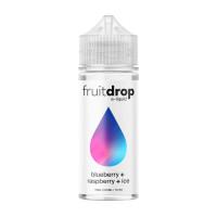 Blueberry Raspberry ICE Vape Juice By Drop Eliquid 100ml Shortfill