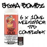 Fruit Salad By Stika Bombz 6x10ml (Tpd Compliant)