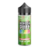 Strawberry, Pear and Lime By Moreish Fruits 100ml Shortfill