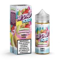 Honeydew Strawberry ICED By Hi Drip 100ml Shortfill