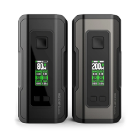 Profile Squonk 2 in 1 Mod By Wotofo available in black and gunmetal