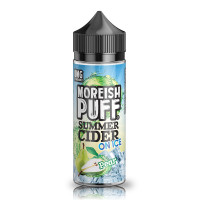 Pear By Moreish Puff Summer Cider On Ice 100ml Shortfill