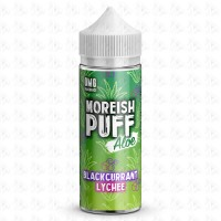 Blackcurrant Lychee By Moreish Puff Aloe 100ml Shortfill