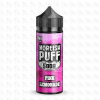 Pink Lemonade By Moreish Puff Soda 100ml Shortfill