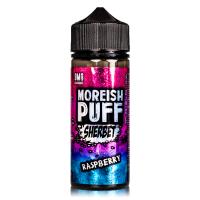 Raspberry By Moreish Puff Sherbet 100ml Shortfill
