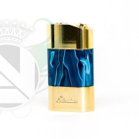 Stratus Series Box Mod New release Brass Blue