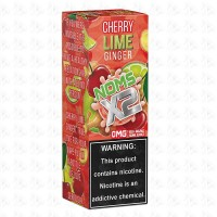 X2 Cherry Lime Ginger By Nomenon 100ml Shortfill