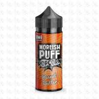 Peanut Butter By Moreish Puff Popcorn 100ml Shortfill