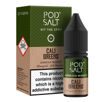 Amnesia Mango By Pod Salt and Cali Greens 10ml
