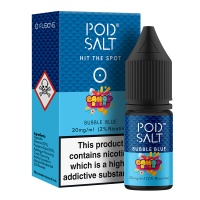 Bubble Blue By Pod Salt and Candy Rush 10ml
