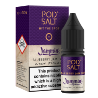 Blueberry Jam Tart By Pod Salt and Jammin 10ml