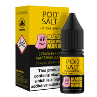 Strawberry Marshmallow By Pod Salt and Marshmallow Man 3 10ml