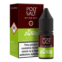 Cola With Lime By Pod Salt and Big Tasty 10ml
