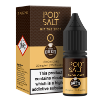 Lemon Cake By Pod Salt and Vapers Oven 10ml
