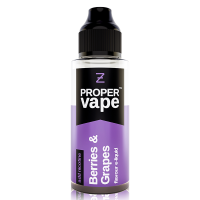 Berries and Grape by Proper Vape 100ml Shortfill